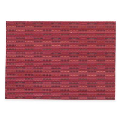 Miles Woven Placemat in Red