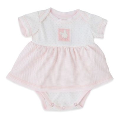 Bunnies by the Bay® Size 6-9M Baby's First Bun Dress in Pink