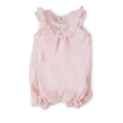 Bunnies by the Bay® Size 6-9M Peek-a-Boo Romper in Pink