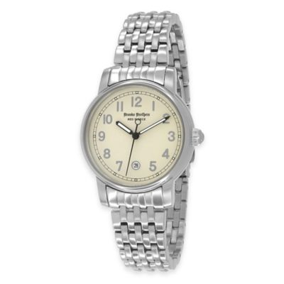 Silver Black Ladies Watch