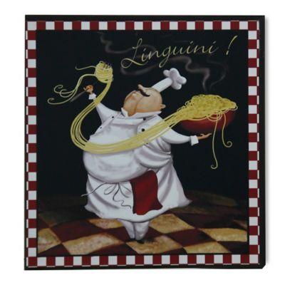 "StyleCraft Pasta Chef ""Linguini"" Wall Art"