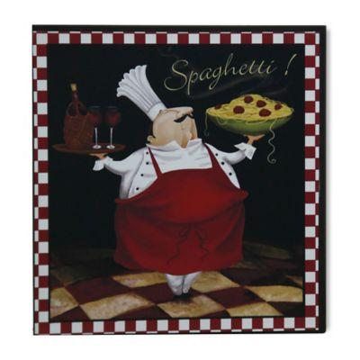 "StyleCraft Pasta Chef ""Spaghetti"" Wall Art"