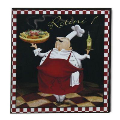 "StyleCraft Pasta Chef ""Rotini"" Wall Art"