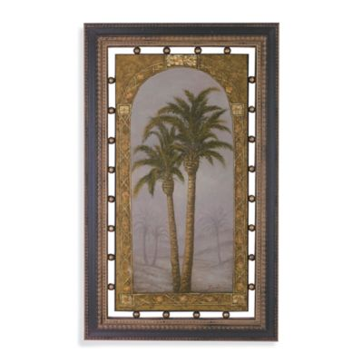 Palms I Framed Wall Art
