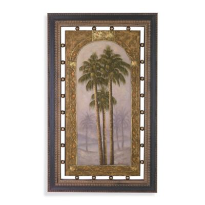Palms II Framed Wall Art