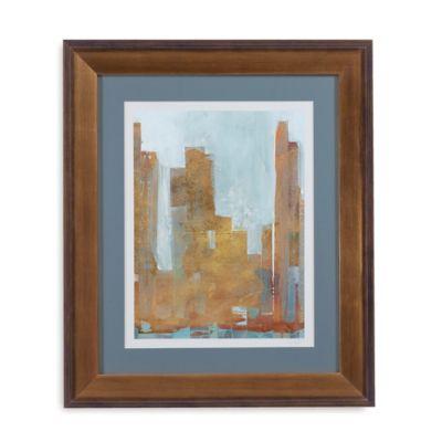 Urban Dawn I Framed Wall Art