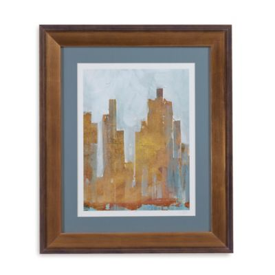 Urban Dawn II Framed Wall Art