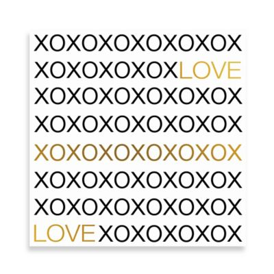 Love Hugs And Kisses XXL Wall Art