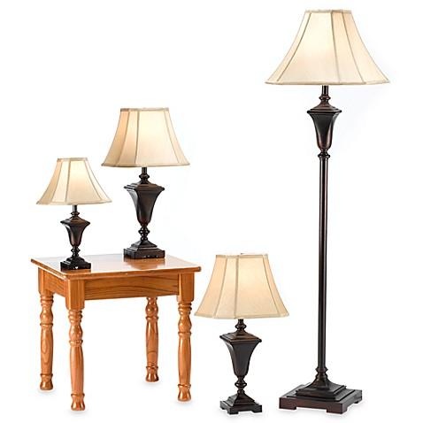 design trends 4 piece lamp set is not available for sale online. Black Bedroom Furniture Sets. Home Design Ideas