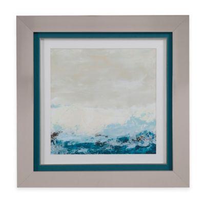 Bassett Mirror Company Coastal Currents II Framed Wall Art