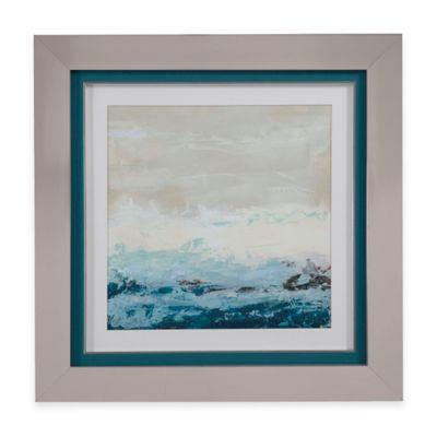 Bassett Mirror Company Coastal Currents I Framed Wall Art