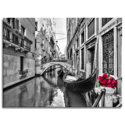 Love Canal Canvas Wall Art