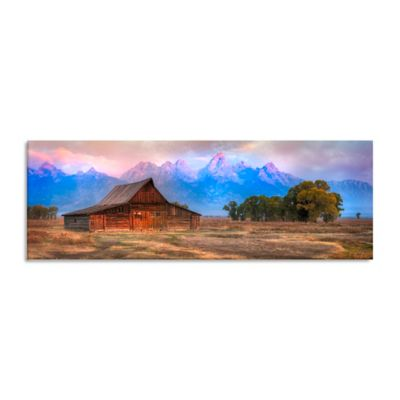 Moultons Barn Canvas Wall Art