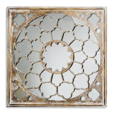 Fretwork Wall Art Mirror