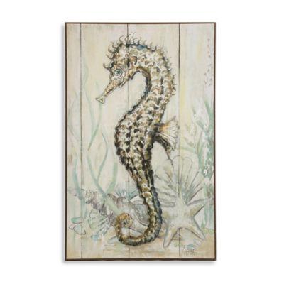 StyleCraft Dancing Seahorse I Wall Art