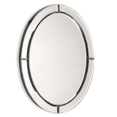 Oval Opal Mirror