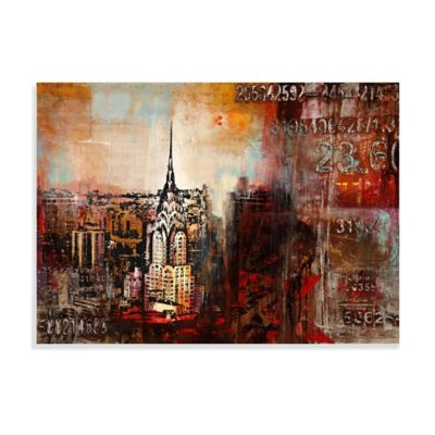 Downtown Nights Canvas Wall Art