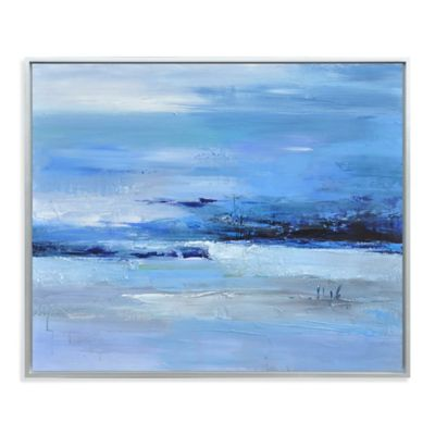 Calmness of Blue Canvas Wall Art