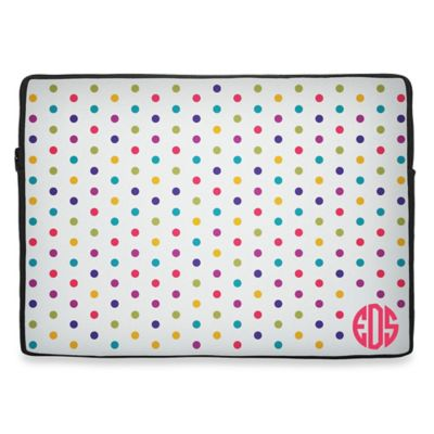 13-Inch Neoprene Initial Laptop Sleeve