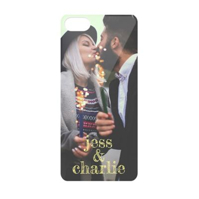 iPhone® 5 Photo Cell Phone Cover in Black