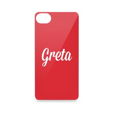 iPhone® 5 Name Cell Phone Cover in Black