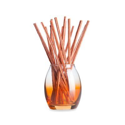 Joy Mangano Forever Fragrant® 20-Count Orange Blossom Sticks with Vase