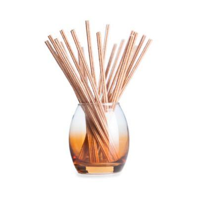 Joy Mangano Forever Fragrant® 20-Count Vanilla Bean Cupcake Sticks with Vase