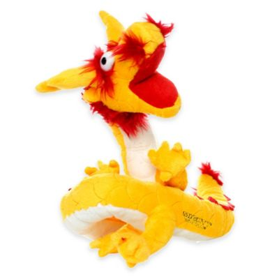 Mighty® Dragon Dog Toy in Yellow