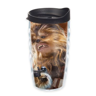"""Tervis® Star Wars™ """"The Force Awakens"""" Chewbacca Collage 10 oz. Wavy Tumbler with Lid"""