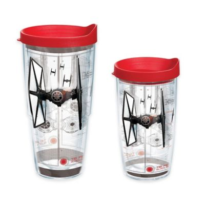 """Tervis® Star Wars™ """"The Force Awakens"""" TIE Fighter Schematic 24 oz. Tumbler with Lid"""