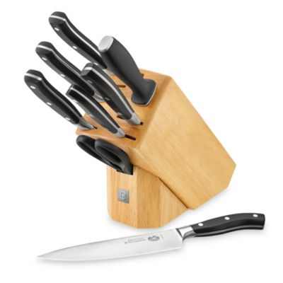 Victorinox Swiss Army 8-Piece Knife Block Set