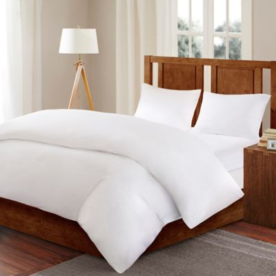 Sleep Philosophy Bed Guardian 3M Scotchguard™ Twin Comforter Protector in White
