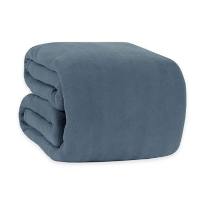 Berkshire Original Microfleece™ Twin Blanket in Blue