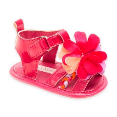 Josmo Shoes Size 1 Flower Sandal in Fuchsia