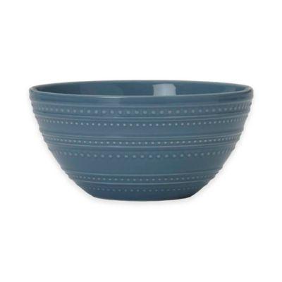 Mikasa® Vella Cereal Bowl in Blue