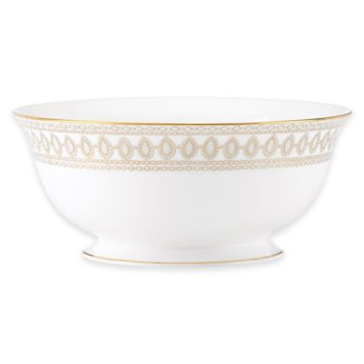 Marchesa by Lenox® Gilded Pearl Serving Bowl