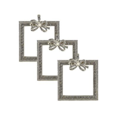 VANDERPUMP Beverly Hills Canon Square Picture Frames (Set of 3)