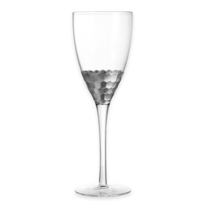 Fitz and Floyd® Daphne Wine Glasses in Silver (Set of 4)