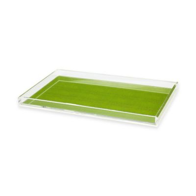 Tinsley Mortimer Palm Beach Serving Tray in Green