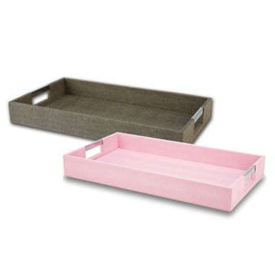 VANDERPUMP Beverly Hills Beverly Serving Tray in Grey