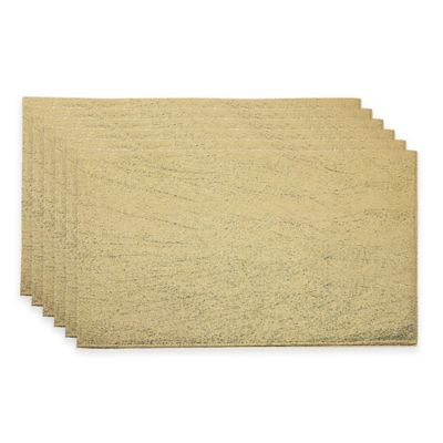 Gold Table Linens Placemats