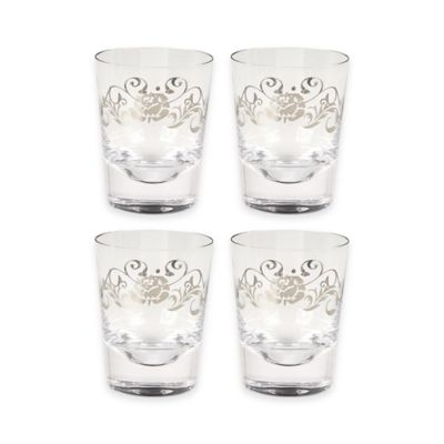 Set of 4 Rocks Glass