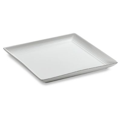 Gordon Ramsay White 8 3/4-Inch Square Plate