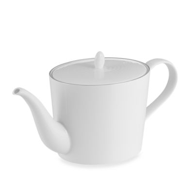 Gordon Ramsay White 40-Ounce Teapot
