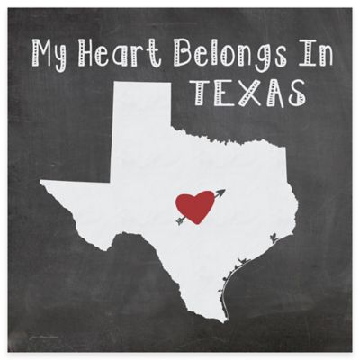 "Thirstystone® ""My Heart Belongs in Texas"" Coasters (Set of 4)"