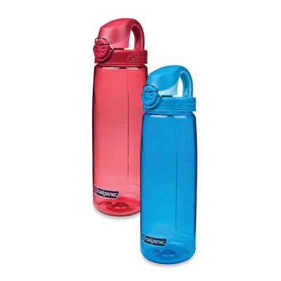 Nalgene® On The Fly Leak-Proof Water Bottle in Petal/Beet Red