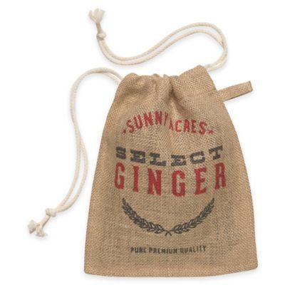 Ginger Small Burlap Sack