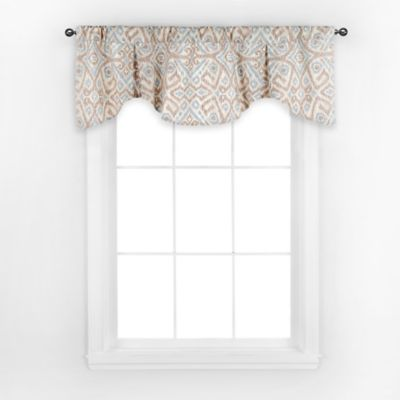 Summerhouse Window Valance in Spa
