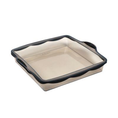 Pure Square 9-Inch Silicone Cook Pan