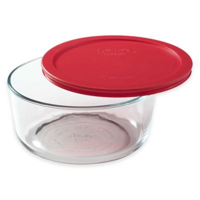 Red Glass Bakeware